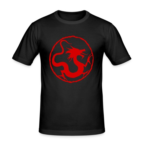 Red Dragon - Men's Slim Fit T-Shirt