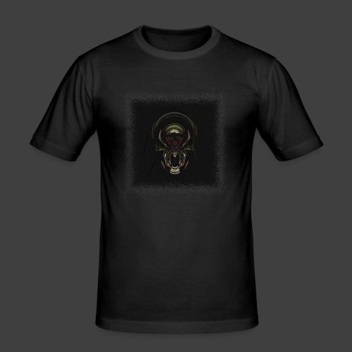 The Scream - Men's Slim Fit T-Shirt