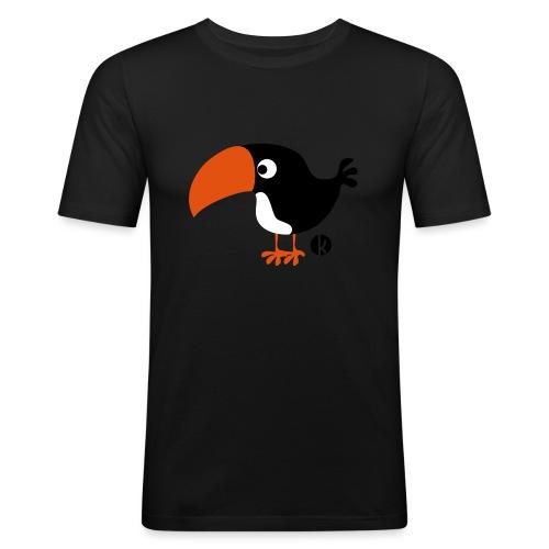 Tukan - Männer Slim Fit T-Shirt