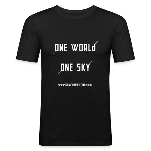 OneWorld - Männer Slim Fit T-Shirt