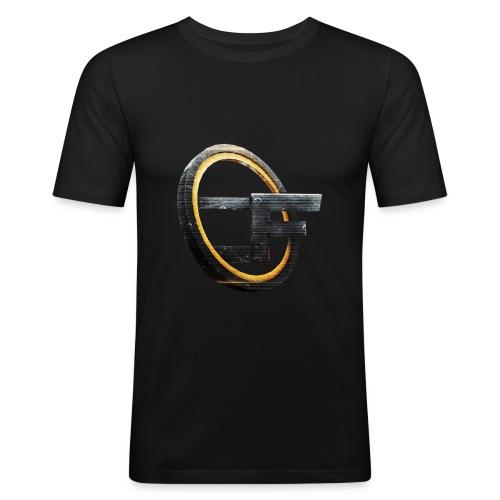 CODFATHER Logo - Männer Slim Fit T-Shirt