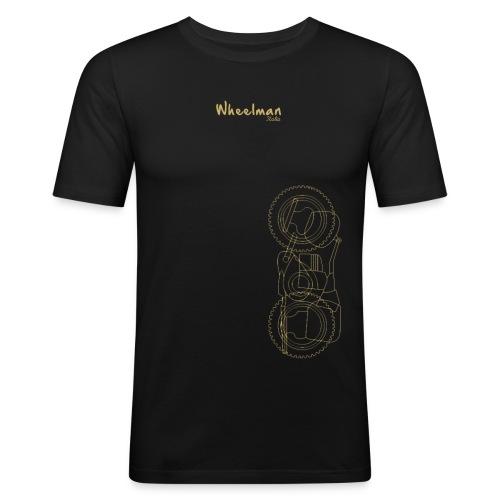 wheelman - Maglietta aderente da uomo