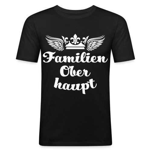 45 Familien Oberhaupt Krone Flügel - Männer Slim Fit T-Shirt