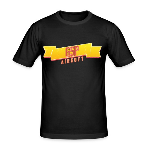 GSP Shirtdesign1 png - Männer Slim Fit T-Shirt