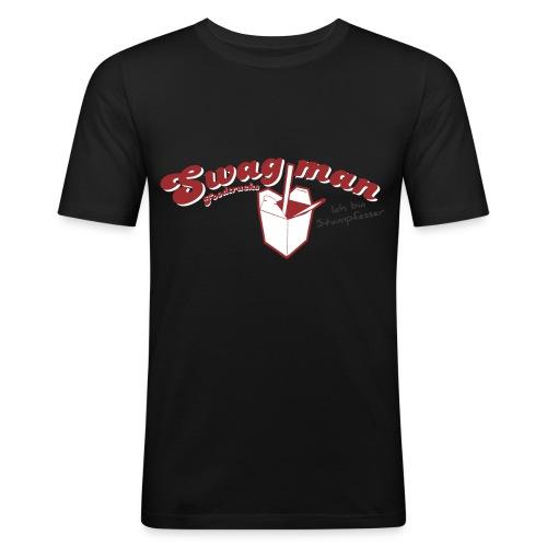 Stampfesser Print Druckvorlage png - Männer Slim Fit T-Shirt