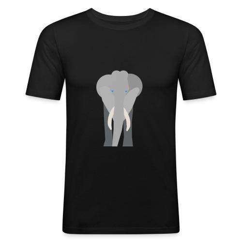 Elefant - Männer Slim Fit T-Shirt