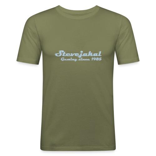 Stevejakal Merchandise - Männer Slim Fit T-Shirt