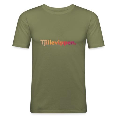 En podd om teknik - Second Edition Black - Slim Fit T-shirt herr