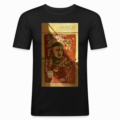 pasionaria madrid - Men's Slim Fit T-Shirt
