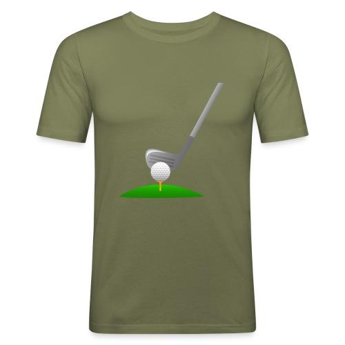 Golf Ball PNG - Camiseta ajustada hombre