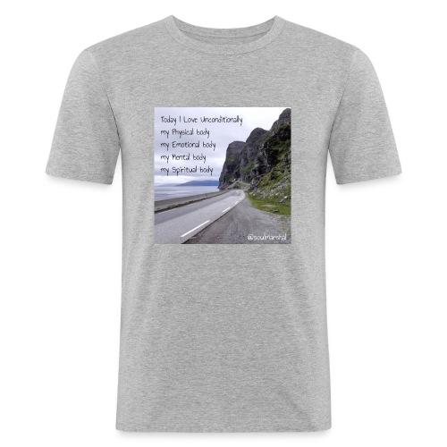 My bodys - Miesten tyköistuva t-paita