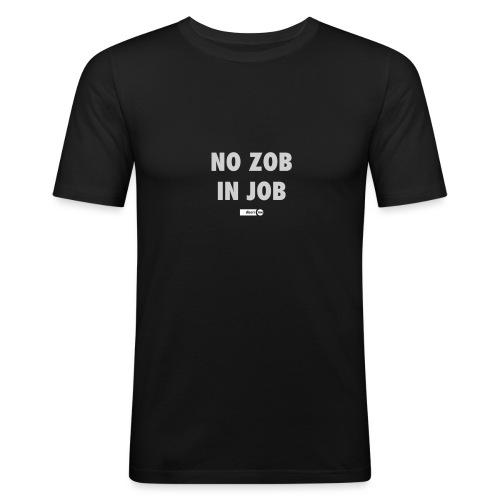 no zob in job - T-shirt près du corps Homme