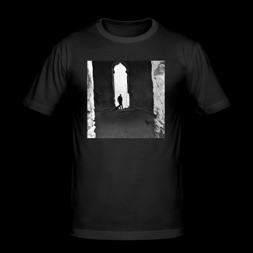 Misted Afterthought - Men's Slim Fit T-Shirt