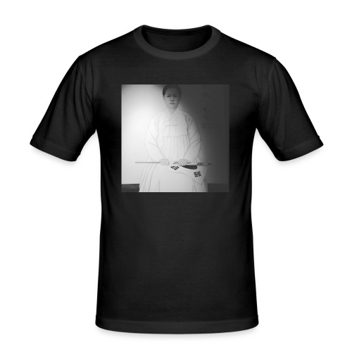 Political activist archetypal pictures - Men's Slim Fit T-Shirt
