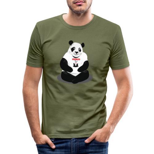 panda hd - T-shirt près du corps Homme