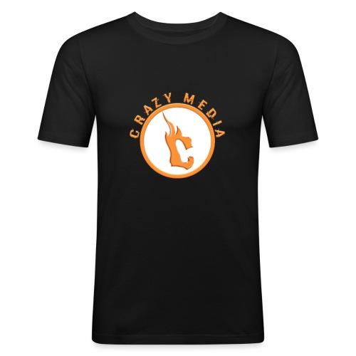 Crazy Media - Men's Slim Fit T-Shirt