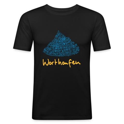 Worthaufen - Männer Slim Fit T-Shirt