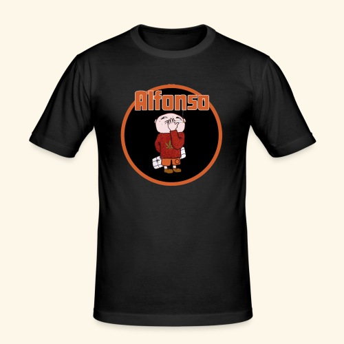 Alfonso - Slim Fit T-shirt herr