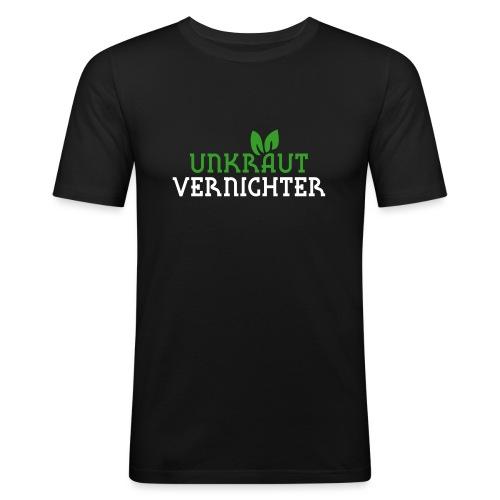 Unkrautvernichter - Männer Slim Fit T-Shirt