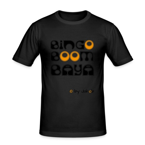 Bingoboombaya - Männer Slim Fit T-Shirt