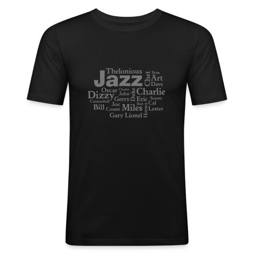 Jazz Greats - Männer Slim Fit T-Shirt