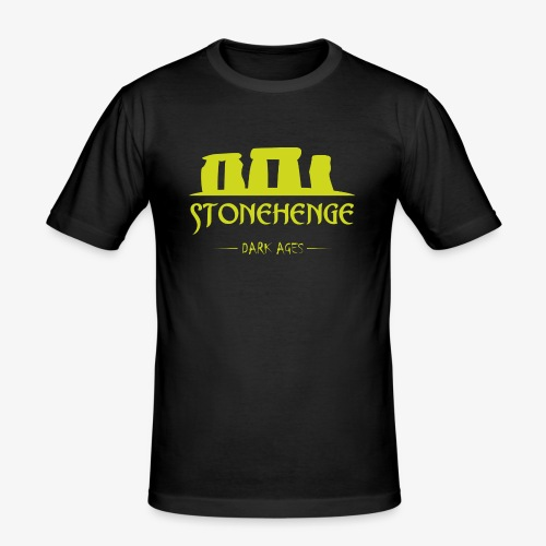 STONEHENGE - Maglietta aderente da uomo