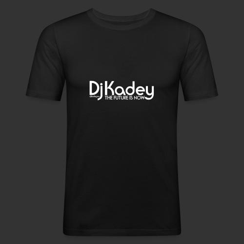 White Dj Kadey Logo - T-shirt près du corps Homme