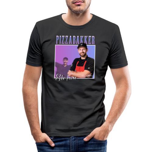 Nr1FAN - Mannen slim fit T-shirt