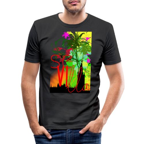 Sevilla - Camiseta ajustada hombre