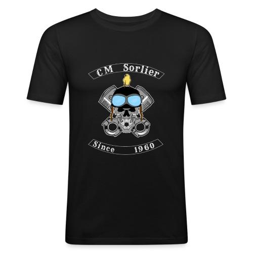 Club moto - T-shirt près du corps Homme