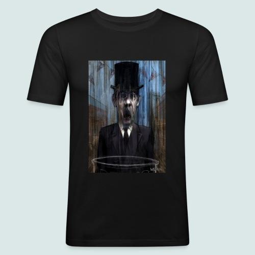 Control - Portrait of Mogg - Men's Slim Fit T-Shirt