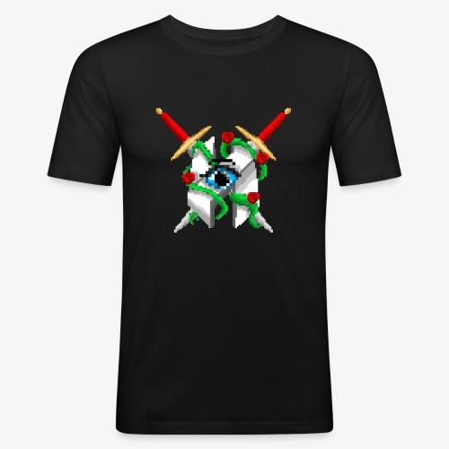 Hault Swords & Roses - Men's Slim Fit T-Shirt