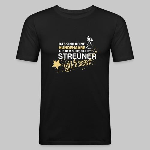 Streuner Glitzer - Männer Slim Fit T-Shirt