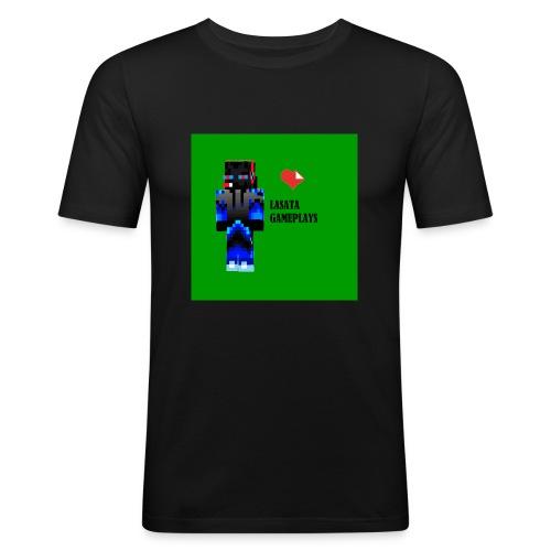 Adoro Lasata gameplays - Camiseta ajustada hombre