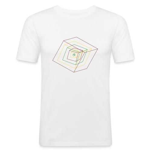 Rasta Cubes - T-shirt près du corps Homme