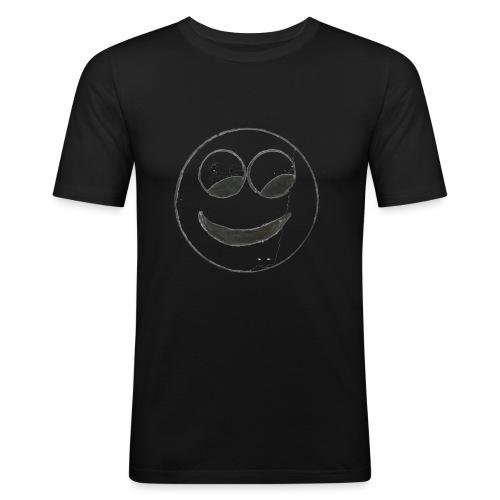 Smiley - Männer Slim Fit T-Shirt