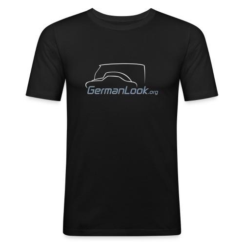 logo GL blanc - T-shirt près du corps Homme