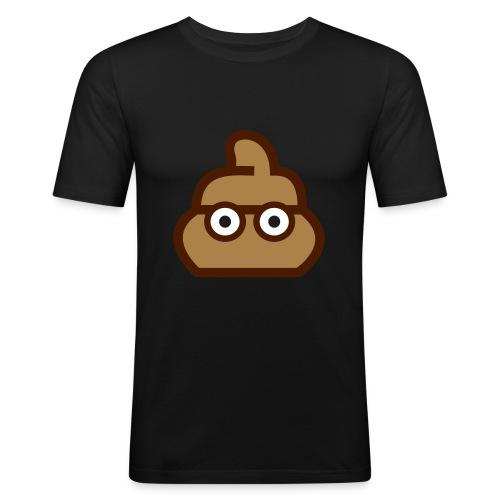 taperapers Poopie dunkel - Männer Slim Fit T-Shirt