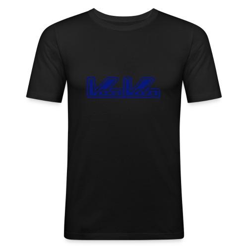 vv blue logo - Men's Slim Fit T-Shirt