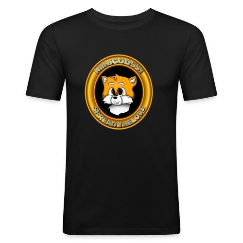 Minigod951 Logo - Men's Slim Fit T-Shirt