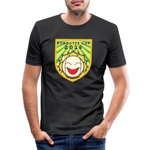 BorbottiCuP 2018 Logo - Maglietta aderente da uomo
