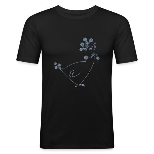 Cosmic Chicken - Men's Slim Fit T-Shirt