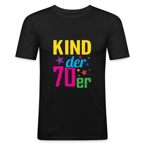 Kind der 70er - Männer Slim Fit T-Shirt