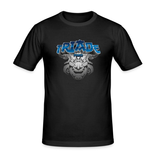 logo triade - T-shirt près du corps Homme
