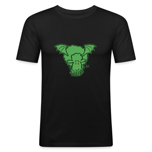 Cthulhu får - Herre Slim Fit T-Shirt