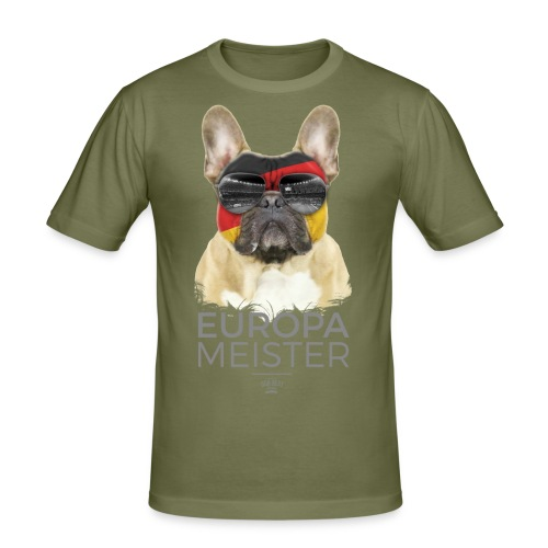 Europameister Deutschland - Männer Slim Fit T-Shirt