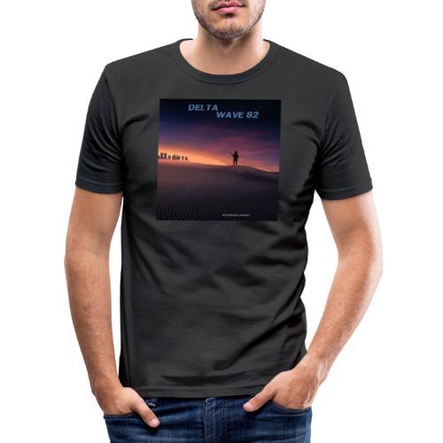 Delta Wave 82 - Dystopian Sunset - Miesten tyköistuva t-paita
