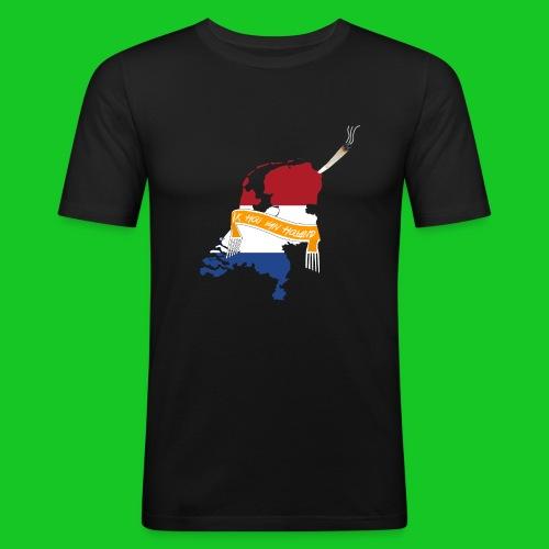 Ik hou van Holland - Mannen slim fit T-shirt
