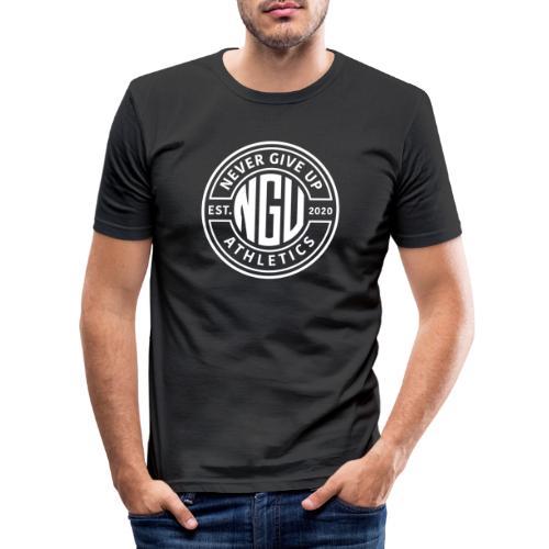 Nevergiveup Athletics Member - Männer Slim Fit T-Shirt