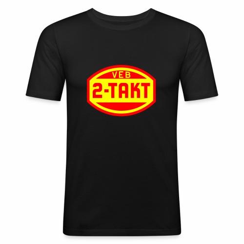 VEB 2-Takt Logo (2c) - Men's Slim Fit T-Shirt